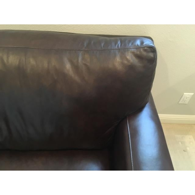 Crate & Barrel Axis II Leather Chair - Image 5 of 8