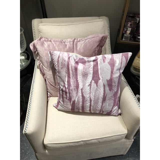 The Mystic Allure collection is awash in rich colors, soft fabrics and metallic accents, making this pillow the perfect...