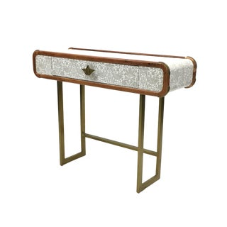 Selamat Strawberry Thief Console Table For Sale