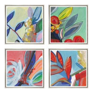 "Trowbridge ""Bouquet of Colour"" Prints - Set of 4 For Sale"