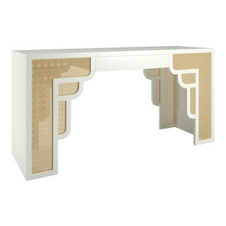 Habanera Desk - Simply White For Sale
