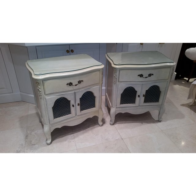 French Provincial Nightstands - Final Markdown Before Donation to Charity For Sale - Image 13 of 13