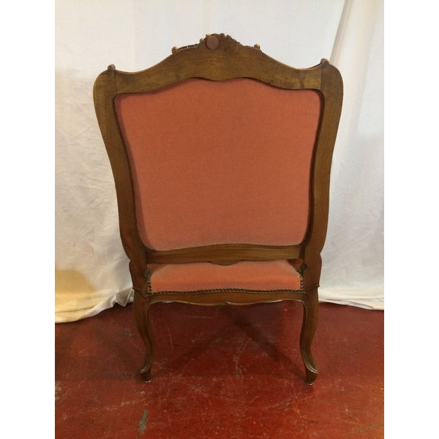 Louis XV Style Arm Chairs - a Pair For Sale - Image 4 of 11
