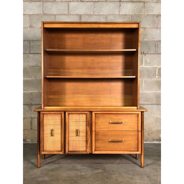 Mid-Century Modern China Cabinet / Bookcase / Display Case - Image 3 of 11