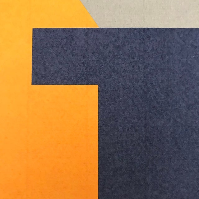 Paper Josua Reichert Lithograph in the Plate Typographic Composition For Sale - Image 7 of 9