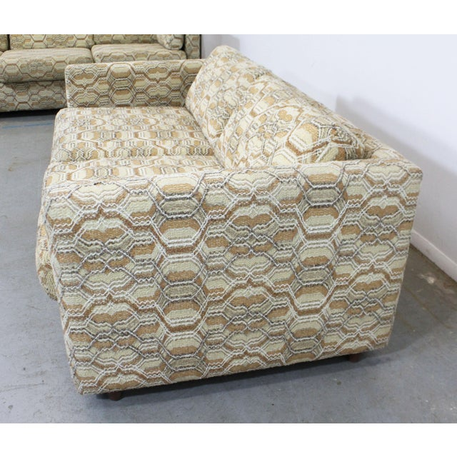Mid 20th Century Vintage Mid-Century Modern Lovseat Sofa For Sale - Image 5 of 9