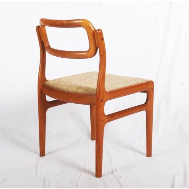 Danish Teak Chairs by Uldum Møbelfabrik, 1960s - Set of 4 For Sale - Image 6 of 11