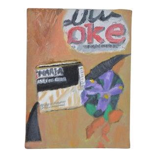 "Arthur J. Krakower ""Cola"" Original Oil on Canvas c.1998 For Sale"