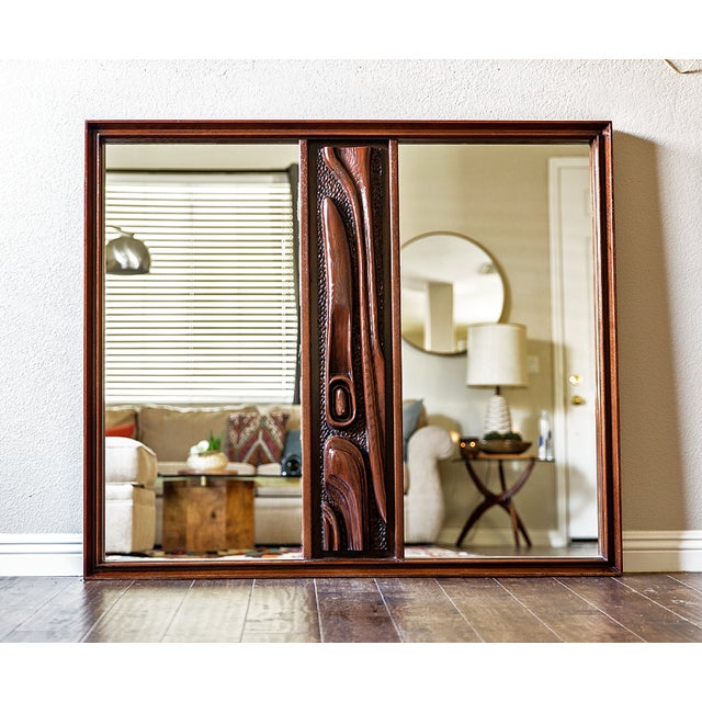 Witco Oceanic Tiki Mirror - Image 2 of 3
