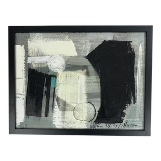 Graham Harmon Abstract Nokturn For Sale
