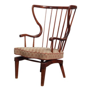 Mid-Century Danish Rocking Chair For Sale
