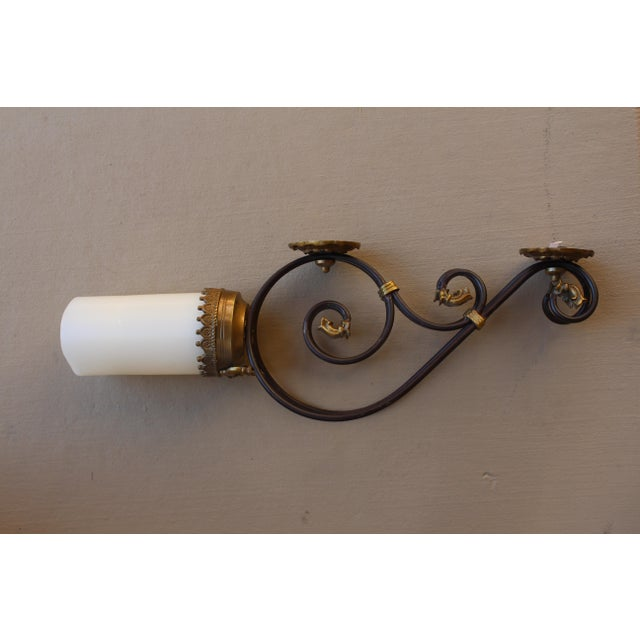 Gold Candlelight Wall Sconce - Image 3 of 4