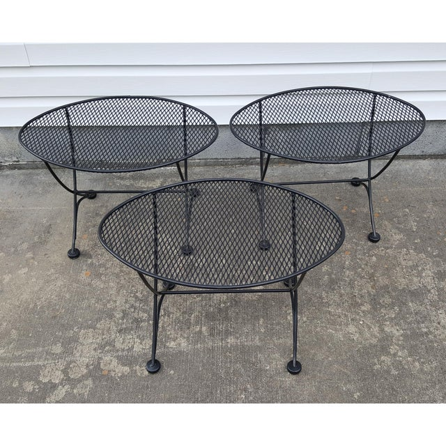 Mid-Century Modern 1960s Mid Century Modern Tempestini for Salterini Patio Side Table For Sale - Image 3 of 10