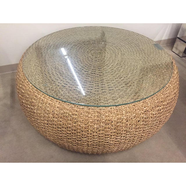Ralph Lauren Driftwood Woven Tail Table Image 2 Of 4