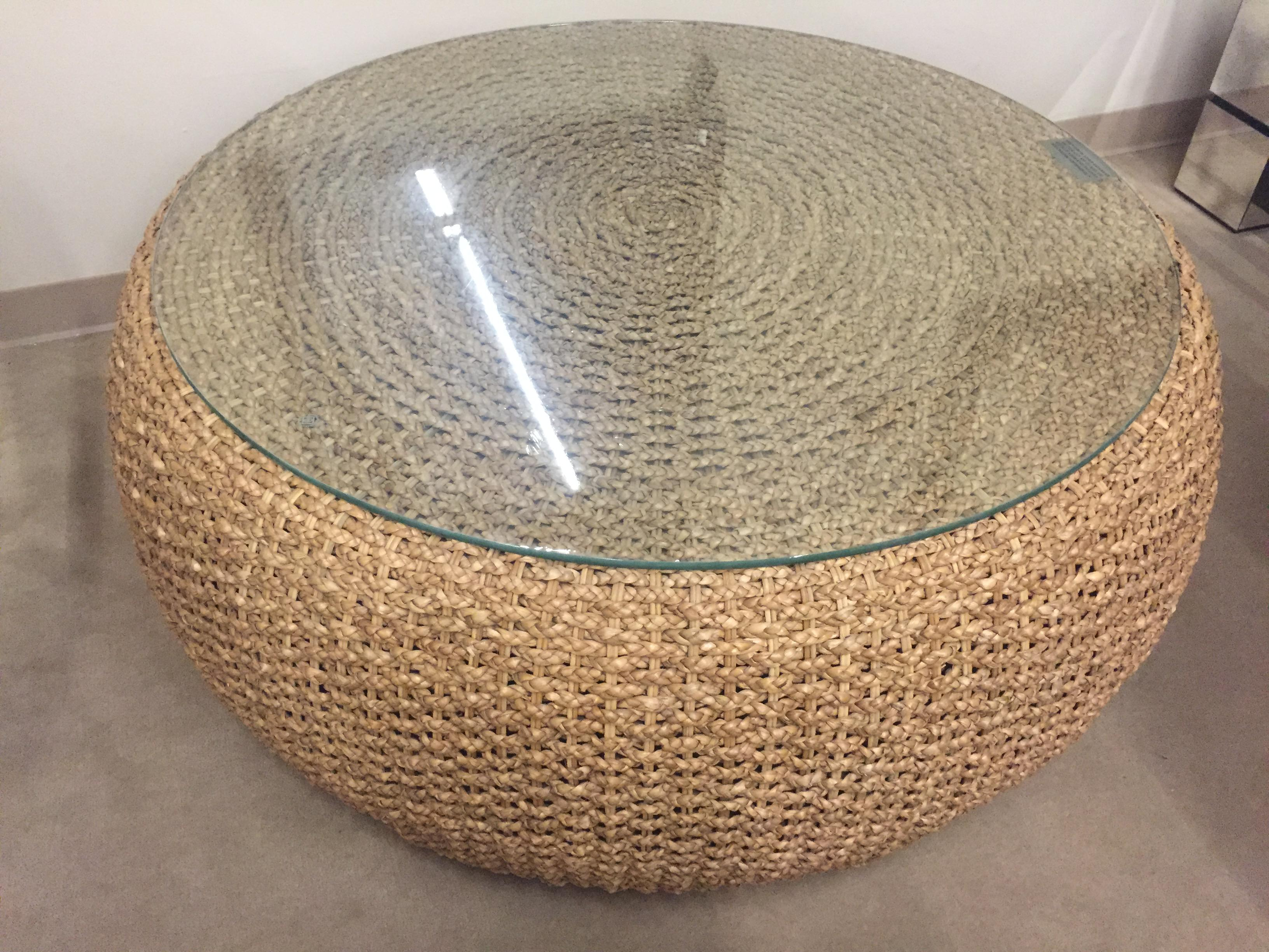 Bon Ralph Lauren Driftwood Woven Cocktail Table   Image 2 Of 4