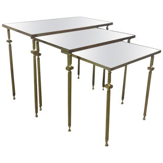 French, Nesting Tables by Maison Bagues For Sale