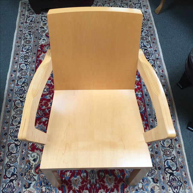 Dakota Jackson Library Arm Chair - Image 8 of 10