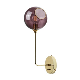 Ballroom the Wall Sconce - Purple For Sale