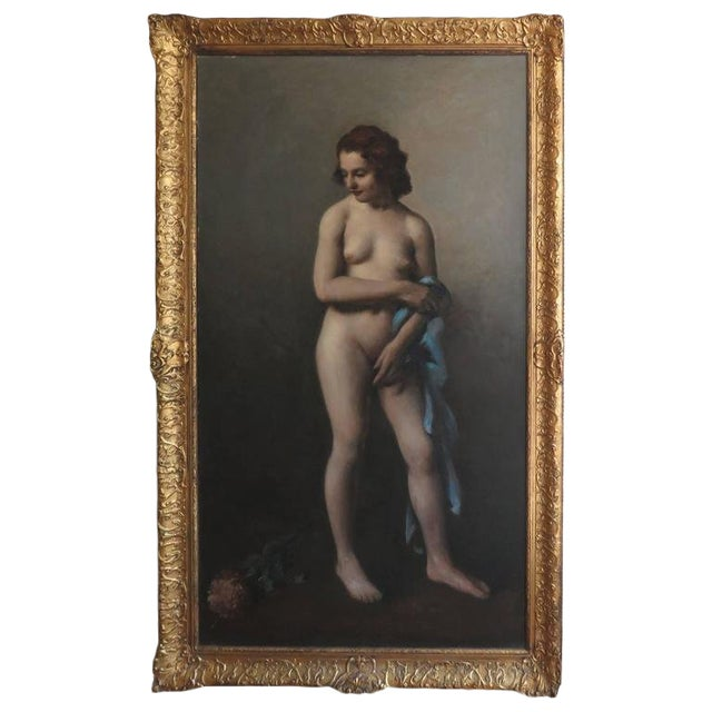 19th Century Large-Scale Nude For Sale
