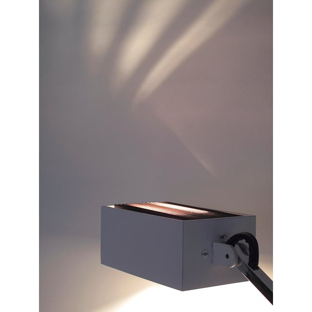 Metal Robert Sonneman Articulated Table Lamp For Sale - Image 7 of 9