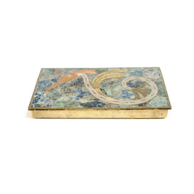 Mexican Inlay Serpent Box - Image 1 of 5