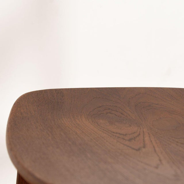 Danish Teak Curved Back Dining Chairs - Set of 4 For Sale - Image 10 of 13