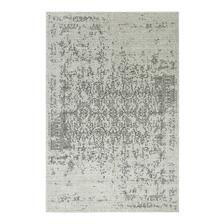 DISTRESSED TURKISH GRAY RUG 5'3''x 7'7''