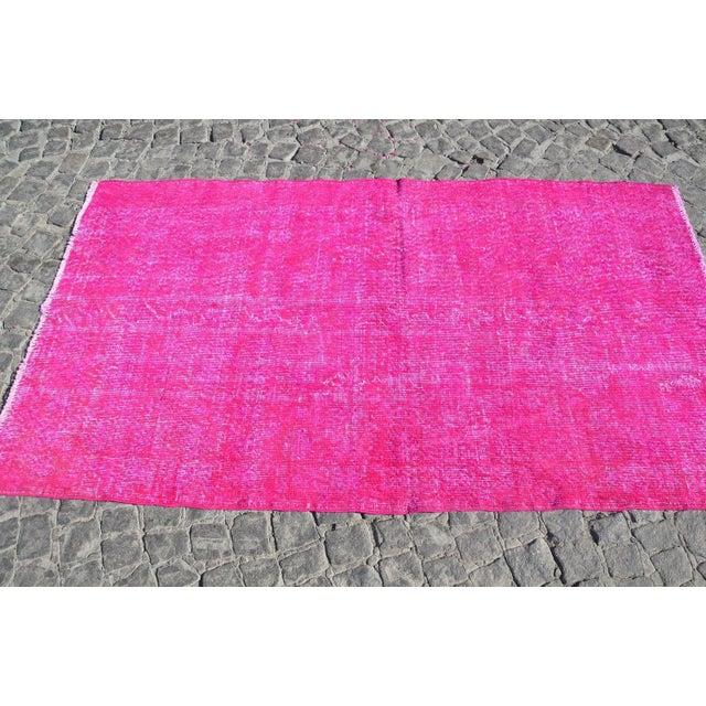 Turkish Floor Rug- 3′10″ × 6′11″ - Image 5 of 6