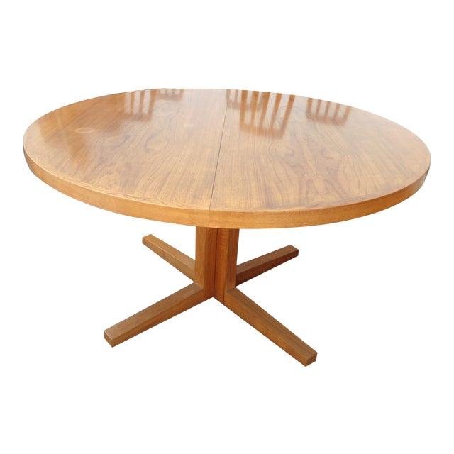 Danish Modern Heltborg Mobler Extendable Dining Table - Image 1 of 11