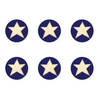 Stargazer Coasters Set of 6 For Sale