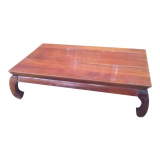 Last Markdowns Item Will Be Removed in One Week Mid-Century Ming Style Table For Sale