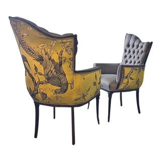 1930s Grosfeld House Chairs - a Pair For Sale
