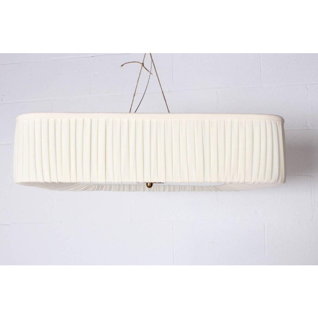 Idman Flush Mount Light Fixture by Paavo Tynell for Idman For Sale - Image 4 of 10