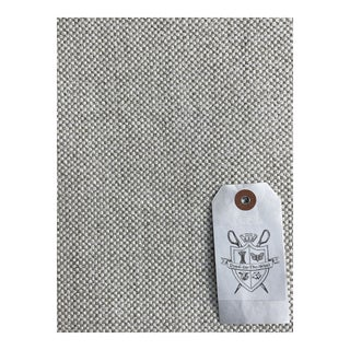 """Holland & Sherry's """"Tablet"""" Cotton Blend Upholstery Texture - 3 1/2 Yards For Sale"""