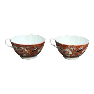 Antique Asia Teacups - A Pair