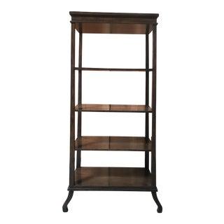 Custom Wood Bookshelf