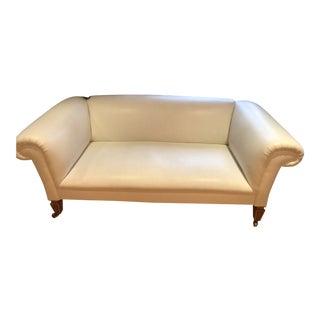 1990s Vintage Reupholstered Vintage David Linley Sofa For Sale