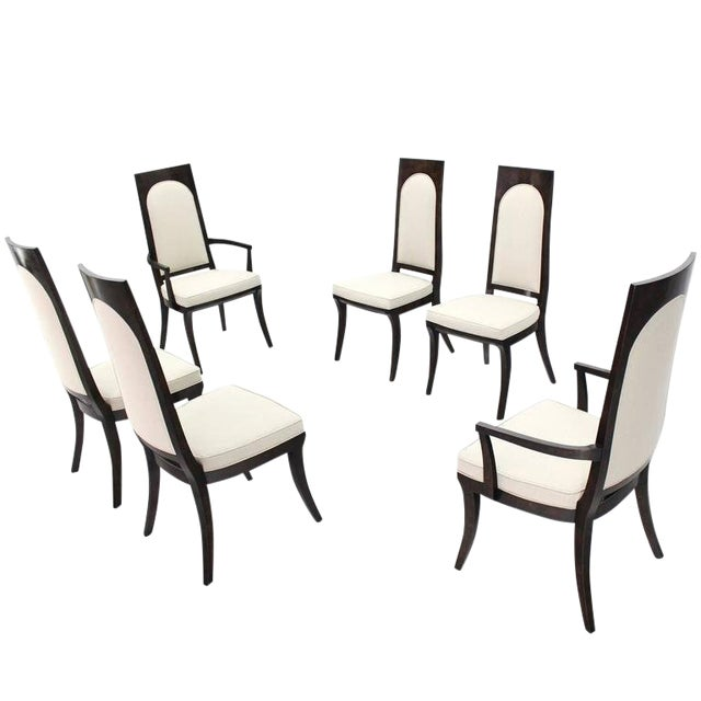 Mid-Century Modern Mastercraft Dining Chairs - Set of 6 For Sale