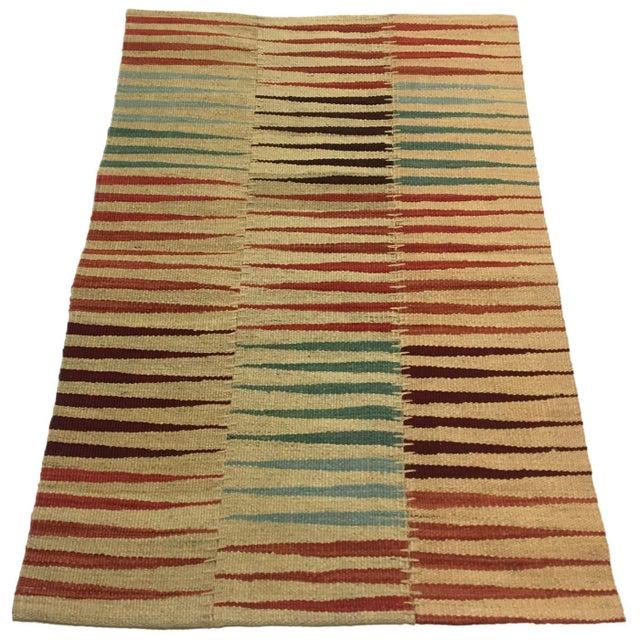 Rug & Relic, Inc. Modern Patchwork Kilim | Flatweave For Sale - Image 4 of 4