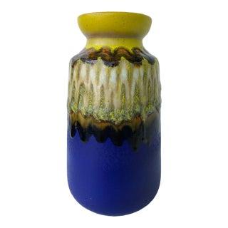Vintage West Germany Art Vase For Sale