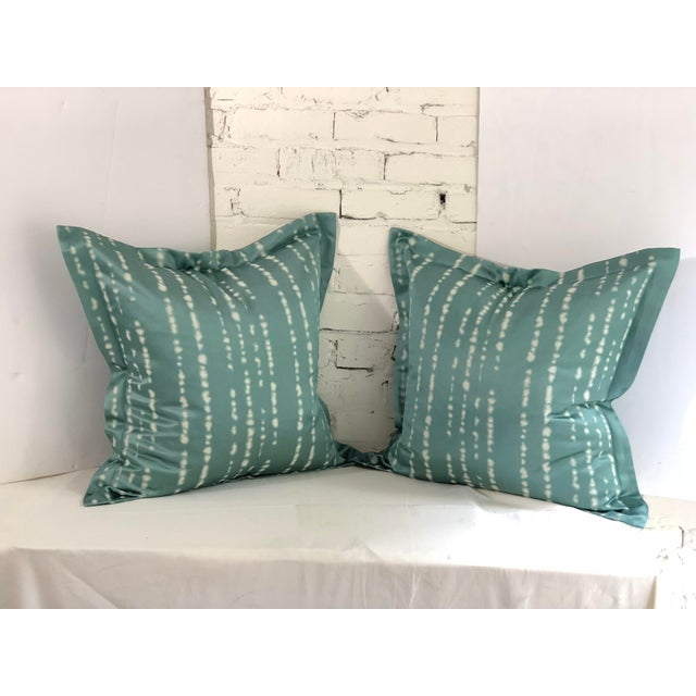 """Pair of 24"""" Jim Thompson Pillows For Sale - Image 11 of 11"""