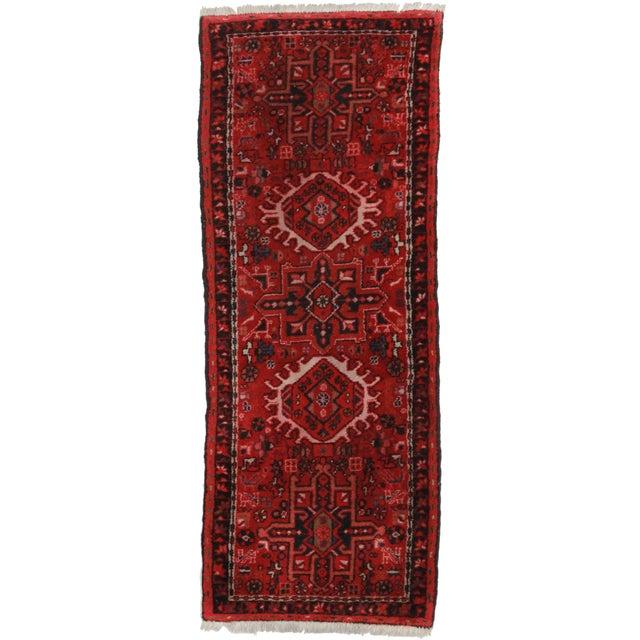 Vintage Wool Persian Karajeh Runner- 2′3″ × 5′8″ For Sale