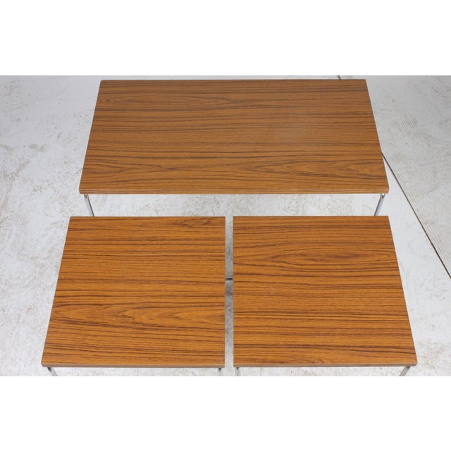 Mid-Century Modern Nesting Tables - Set of 3 - Image 6 of 6