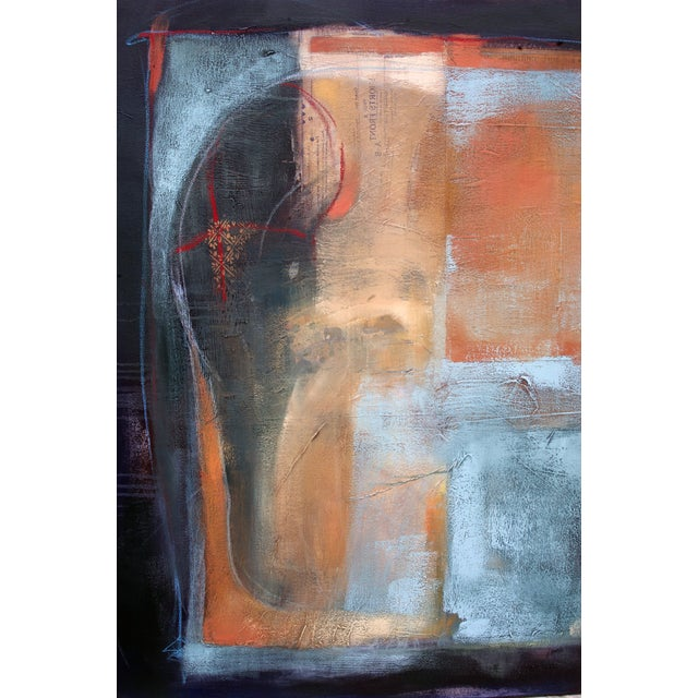 """Elephant in the Room,"" Abstract Painting - Image 2 of 5"