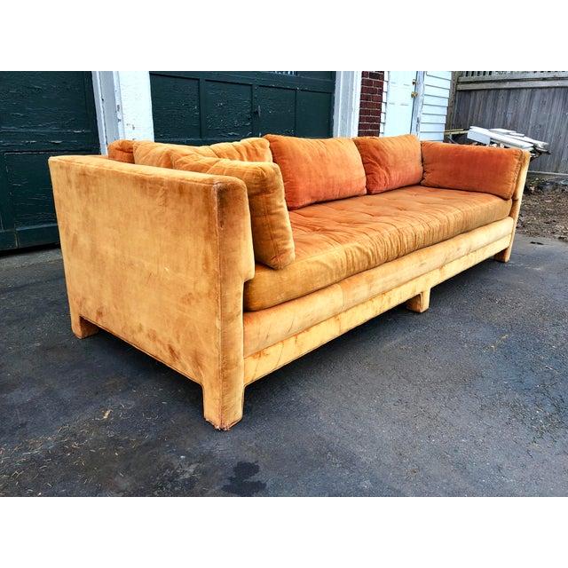 Vintage Mid Century Erwin Lambeth Sofa For Sale In Boston - Image 6 of 13