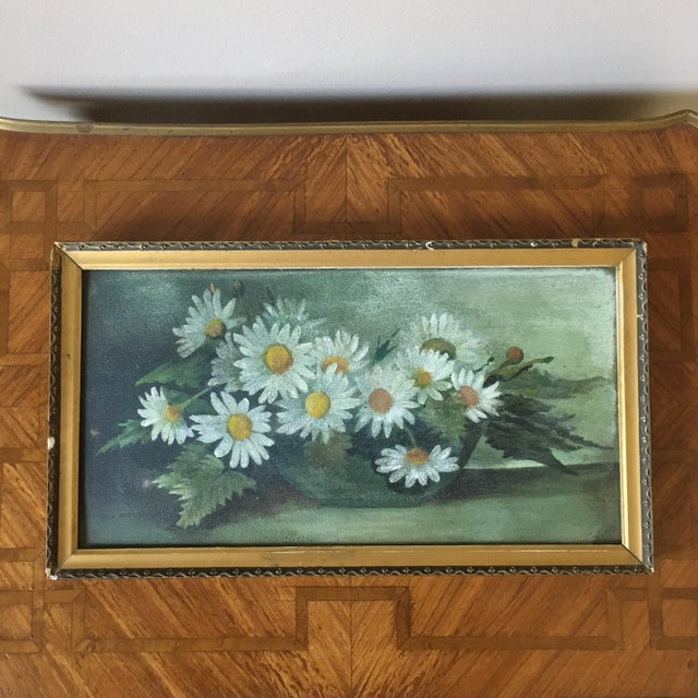 Vintage Painting of Daisies For Sale In South Bend - Image 6 of 6