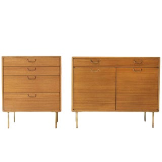 Harvery Probber Matching Cabinet and Dresser - a Pair