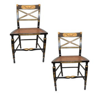 Early 19th Century Vintage Baltimore Side Chairs- A Pair For Sale