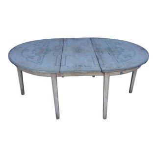 19th Century Swedish Dining Table For Sale