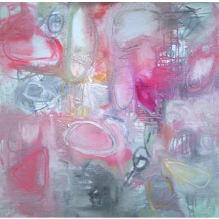 """""""Open Heart"""" Abstract Oil Painting by Trixie Pitts"""